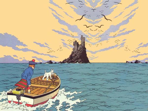 from Tin Tin by Hergé